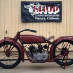 1920 Indian Scout Motorcycle
