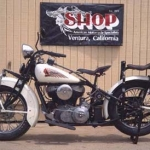 1933 Indian Chief Motorcycle