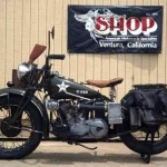 1941 Indian Scout Military Motorcycle