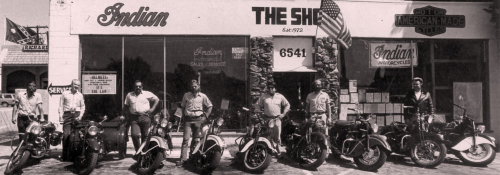 The Shop, American Motorcycle Specialists in Ventura, California