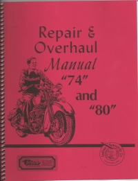 1933-53 Indian Repair and O'Haul Manual