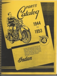 1944-53 Indian Chief Parts Catalog