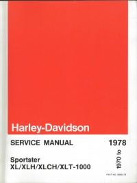 1970-78 Sportster XL Service Manual