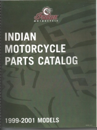 1999-2001 Indian Parts Book All Models