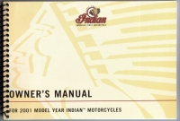 2001 OWNER'S MANUAL  ALL MODELS CHIEF, SCOUT, SPIRIT