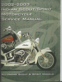 2002-2003 Indian Scout/Spirit Service manual