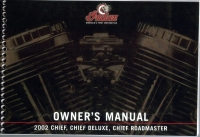 2002 CHIEF/ CHIEF DELUXE/ CHIEF ROADMASTER OWNER'S MANUAL