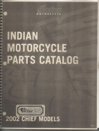 2002 Indian Chief Parts Book
