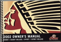 2002 SCOUT/SPIRIT/SCOUT DELUXE/SPIRIT DELUXE OWNER'S MANUAL
