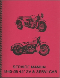 45 SV and Servi-Car Service Manual