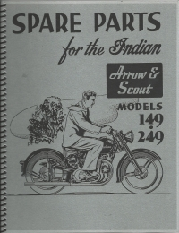 1949-51 Arrow-Scout Parts Catalog