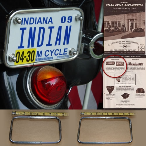 Indian License Plate Frame