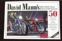 David Mann's motorcycle masterpieces book