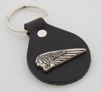 Indian M/C Headress key Fob