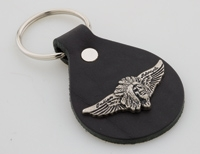 Indian M/C Wings/Head Key Fob