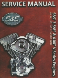 S & S 3-5/8 & 4.00 V-SERIES Engines Service Manual